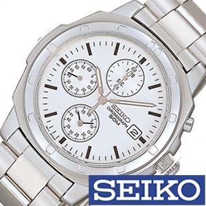 [5年保証][セイコー腕時計[SEIKO時計](SEIKO 腕時計 セイコー 時計)クロノグラフ メンズ時計 SND187P[ギフト プレゼント ご褒美][ おしゃれ ブランド ] 誕生日 冬ギフト