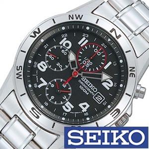 [5年保証][セイコー腕時計[SEIKO時計](SEIKO 腕時計 セイコー 時計)クロノグラフ メンズ時計 SND375PC[ギフト プレゼント ご褒美][おしゃれ 腕時計]