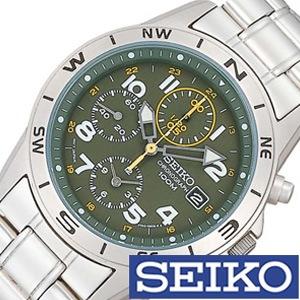 [5年保証][セイコー腕時計[SEIKO時計](SEIKO 腕時計 セイコー 時計)クロノグラフ メンズ時計 SND377P[ギフト プレゼント ご褒美][ おしゃれ ブランド ]