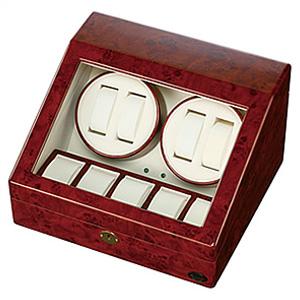 [当日出荷] 自動巻き上げ機[自動巻き機]ワインディングマシーン 腕時計 時計 ワインディング マシーン ウォッチワインダー ウォッチ 時計ケース 腕時計 ケース 腕時計ケース 木製 1本 2本 4本 木製4連[自動巻 メンズ 機械式 婦人 自動巻き プレゼント おしゃれ ブランド ]
