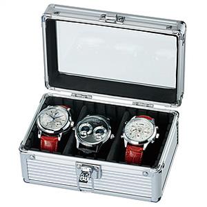 腕時計 コレクションケース 時計 収納 ケース [ディスプレイ ウォッチケース 時計ケース 腕時計ケース 収納ケース コレクションボックス 木製 レザー 牛革製 3本 5本 10本 多数取り扱い][ギフト プレゼント ご褒美][おしゃれ 腕時計]