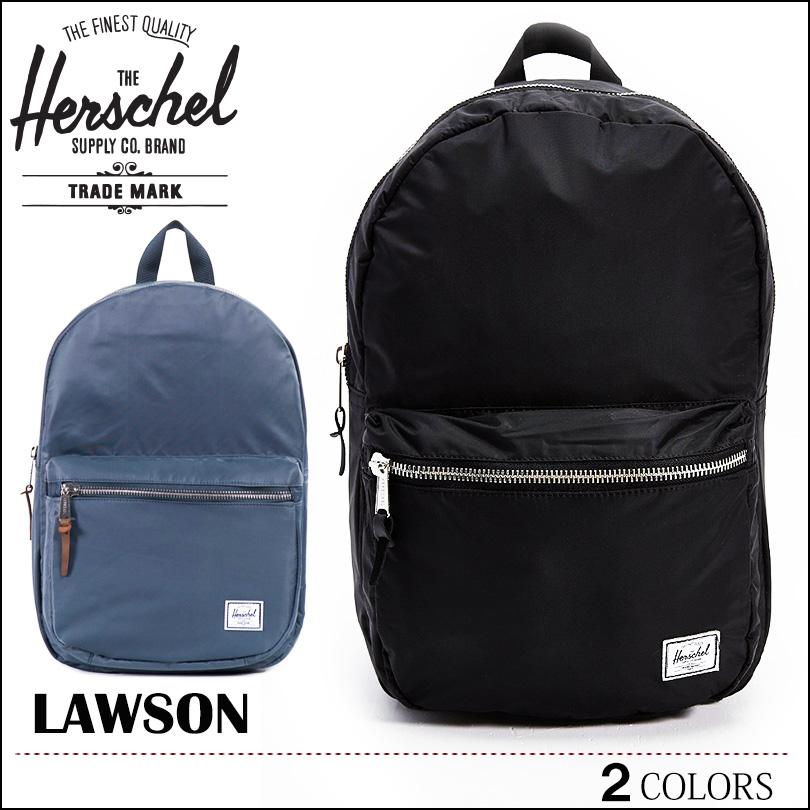 【送料無料】HERSCHEL ハーシェル リュック 旅行 通勤 通学 ローソン デイパック バッグ バックパック LAWSON ブラック ネイビー サーフ アウトドア BAG