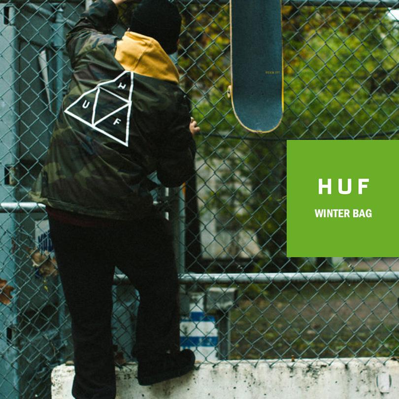 【送料無料】HUF ハフ 福袋 2019 パーカー リュック BAG 送料無料 メンズ レディース stussy supreme キース ハフナゲル 入学 新生活