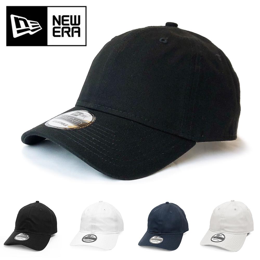 NEWERAから新作9TWENTYローキャップが入荷!! ニューエラ キャップ NEWERA 無地 9TWENTY CAP 帽子 ゴルフ ローキャップ人気 メンズ レディース アジャスター 野球 ブラック ADJUSTABLE UNSTRUCTURED LOW NE201