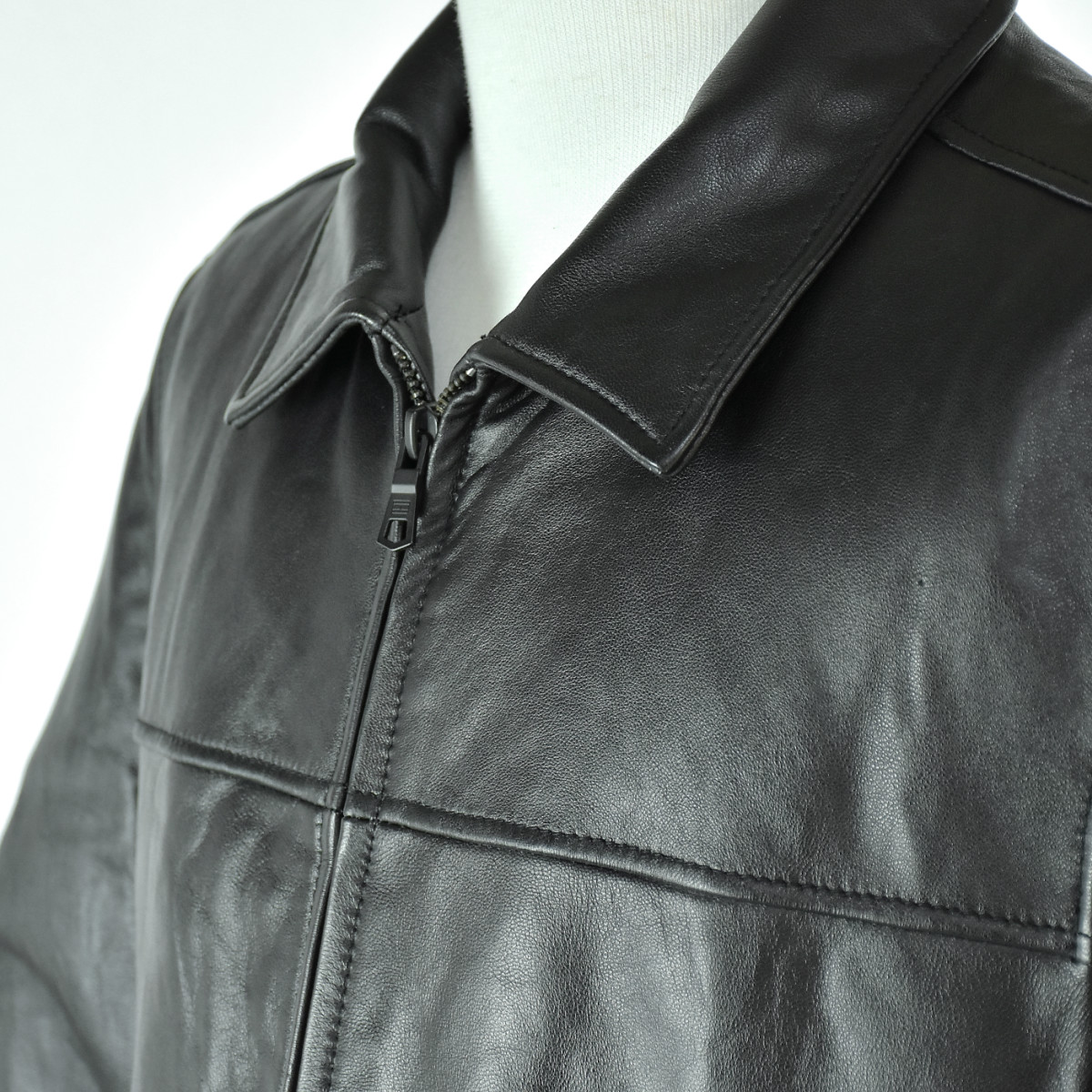 Tommy Hilfiger Mensトミーフィルフィガー・メンズGENUINE Leather(本革)ジャケット