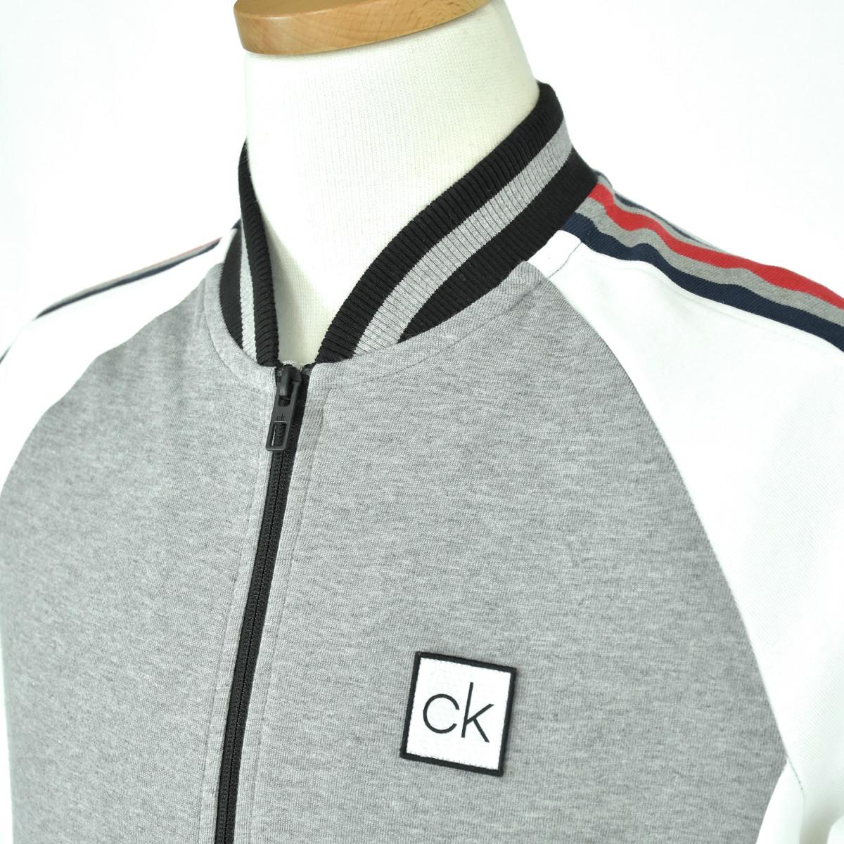 Calvin Klein カルバンクライン メンズマルチカラートラックジャケットM