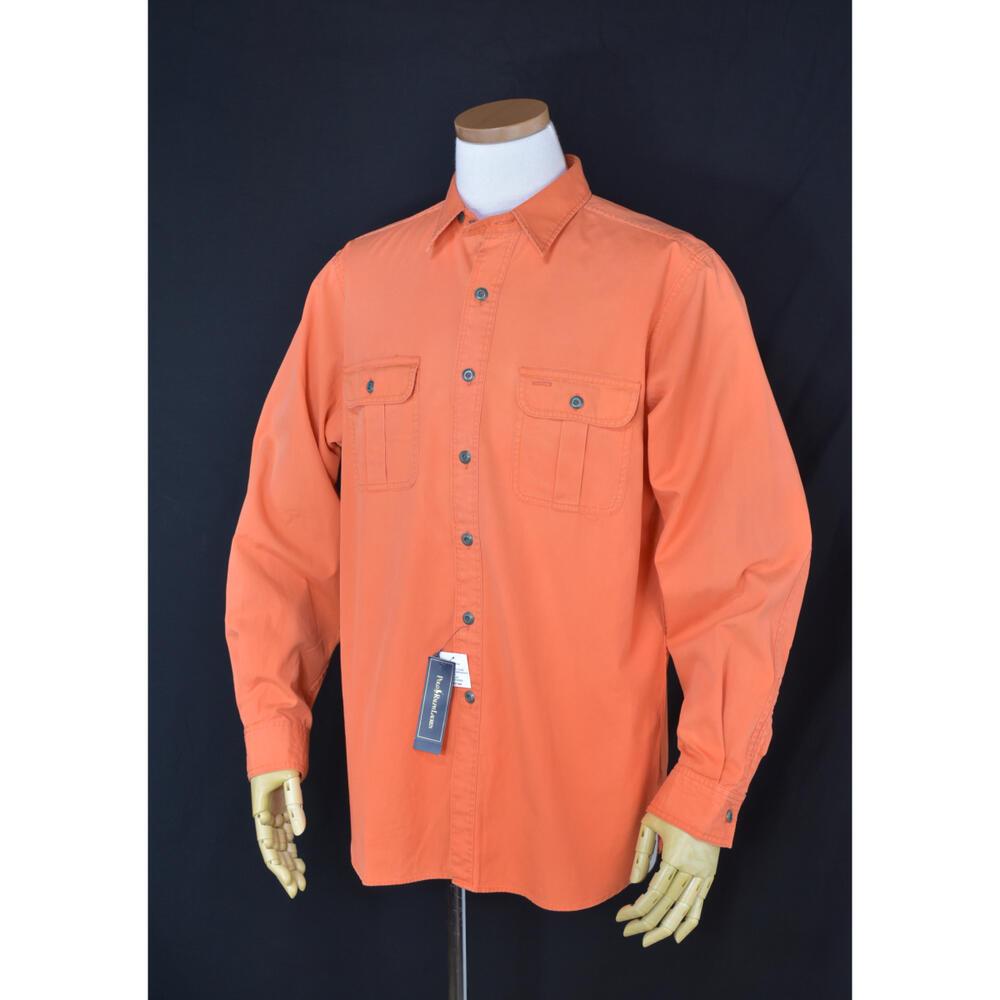 Ralph Laurenメンズ コットンワークシャツ