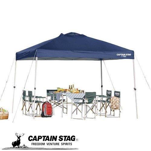 キャプテンスタッグ テント タープ サンシェルター S DX300UV- 激安通販販売 クイックシェード 商舗 キャスターバッグ付M-3271