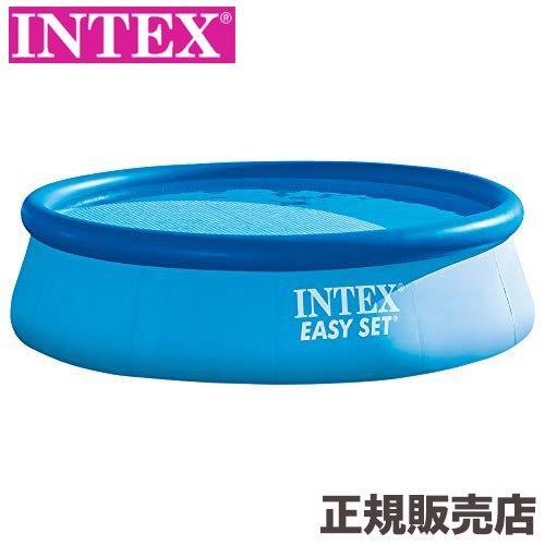 プール 大型 家庭用 子供用 ベランダ 庭 簡単設置 インテックス intex 家庭用 プール 自宅 簡単 イージーセットプール 366×76cm 28130 U-5725 INTEX