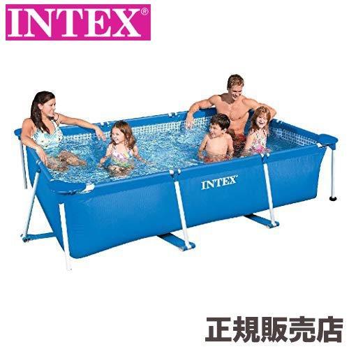 プール レクタングラフレームプール 220x150x60cm 28270 INTEX(インテックス)