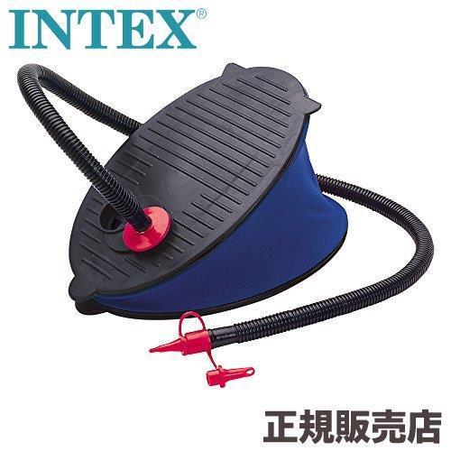 インテックス intex 足踏み式 エアーポンプ エアポンプ ビニールプール 店内限界値引き中 セルフラッピング無料 浮き輪 フロート ビーチボール INTEX 69611 フットポンプ 新色追加して再販 28cm プール 空気入れ 手動 足