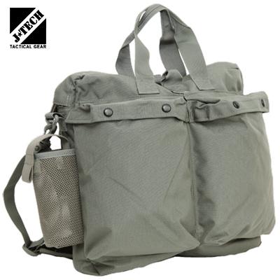 J-TECH(ジェイテック)JAUNTY-34 新型ヘルメットバッグ [Foliage Green][ショルダーストラップ付き]【中田商店】