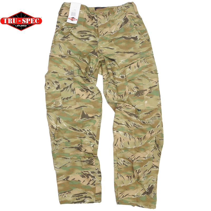 Tru-Spec(トゥルースペック)Response Uniform Trousers [AT Tiger][ナイロン/コットン混紡][リップストップ][ショートサイズ]