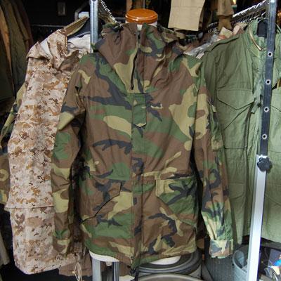 US(米軍放出品) ECWCS パーカー ウッドランド TYPE-1 [初期型]