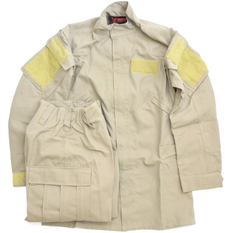 DRIFIRE Phoenix II Fire Resistant Flight Suit Khaki Pants /& Jacket US Army