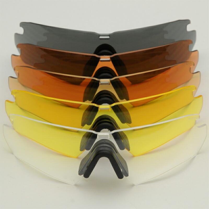ESS(イーエスエス)Crossbow クロスボウ スペアレンズ [5色][スモークグレー/740-0424 ハイデフカッパー/740-0426 ハイデフブロンズ/740-0423 ハイデフイエロー/740-0509 クリア/740-0425]