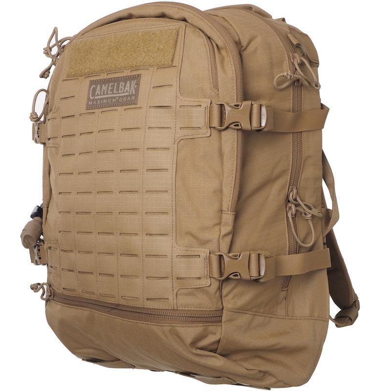 US Surplus(USサープラス)CamelBak Skirmish Backpack [3リットルハイドレーションブラッダー付き][Coyote][62479]【送料無料】