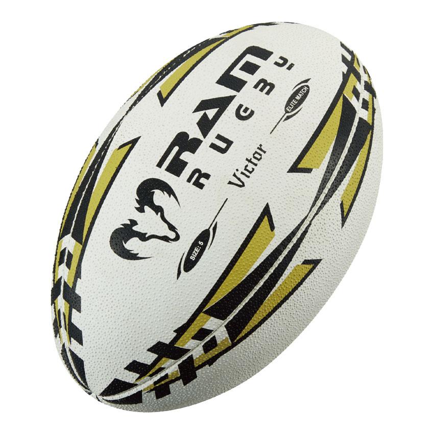 安全 ラムが誇る最高品質のマッチボール ビクター RAM ラム Victor お得セット ラグビーボール ヴィクター 5号球