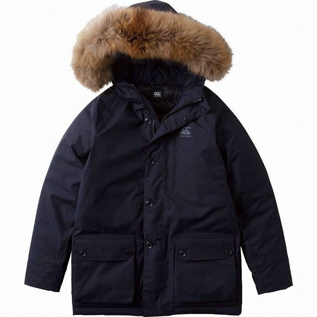 【CANTERBURY】 カンタベリー WATER PROOF DOWN MIDDLE COAT ダウン コート ジャケット ラグビー RA77548