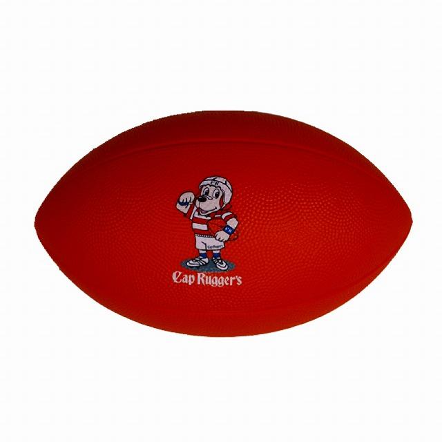 柔らかいスポンジラグビーボール Cap Rugger's キャップ ラガーズ スポンジボール 格安 30個以上から キッズ 幼児用 ラグビーボール セール