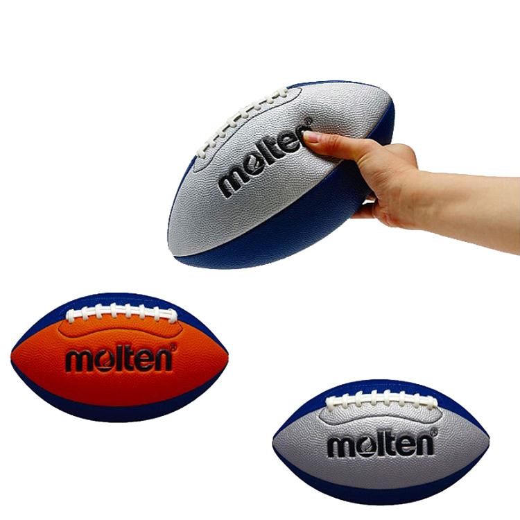 molten モルテン フラッグフットボール 安心と信頼 ラグビーボール 柔らか Q4C2500 限定品 アメリカンフットボール
