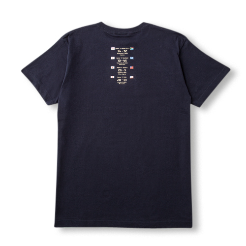 럭비 일본 대표 캔터베리 ブレイブブロッサムズ T-셔츠 BRAVE BLOSSOMS T-SHIRTS