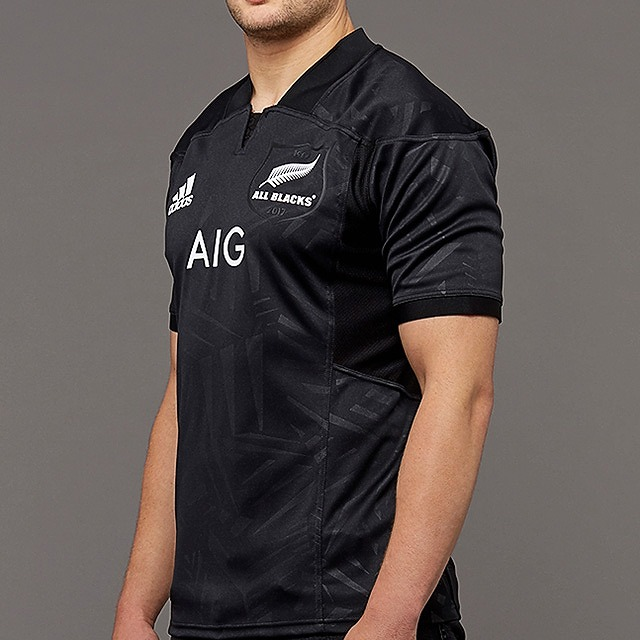 4b6268b1560 Adidas All Blacks territory jersey rugby jersey yellowtail tissue Irish Lions  rugby ...