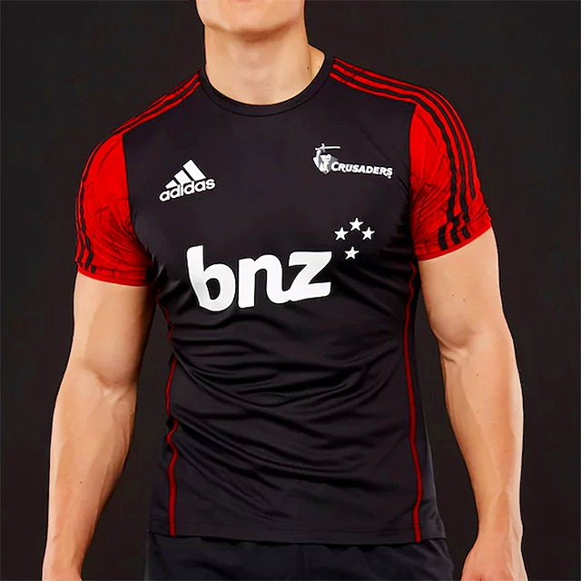 066290e2caa Cap Ruggers: Adidas crusaders performance T-shirt 2018 super rugby ...