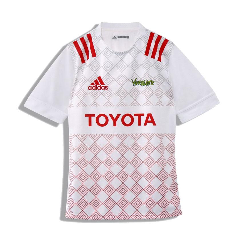 【adidas】 アディダス トヨタ自動車ヴェルブリッツ ホーム ジャージ レプリカ ラグビー トップリーグ GOQ37