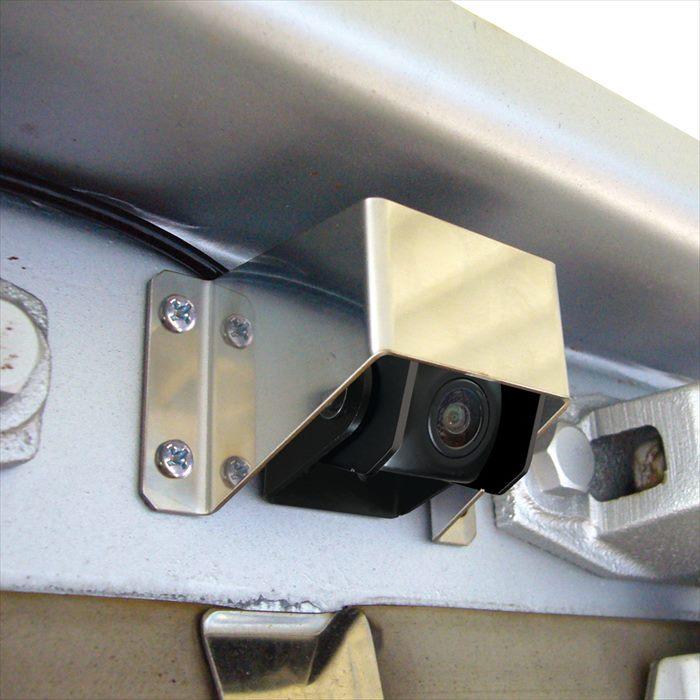 7インチ バック サイドカメラセット 国内送料無料 5m中継ケーブルツキ モニタートリツケブラケットレスシヨウ 4979969090604 ヤック 高級 yac_xcm1s
