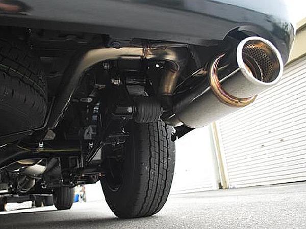 ハイエース マフラー 200系 TRH200V ロッソモデロ 【車検対応】 GT-8 マフラー ハイエースバン