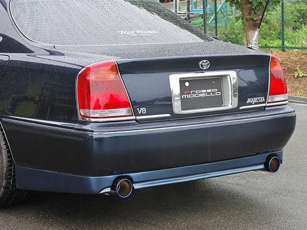 ロッソモデロ Ti-Cマフラー トヨタ クラウンマジェスタ GH-UZS171 / TA-UZS171 TA-UZS175 / TA-UZS175