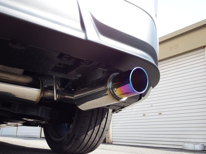【車検対応】ロッソモデロ COLBASSO Ti-C マフラートヨタ プリウス DAA-ZVW50 / DAA-ZVW51 2WD車専用モデリスタ UP-GRADE STYLEエアロ対応 前期後期共用