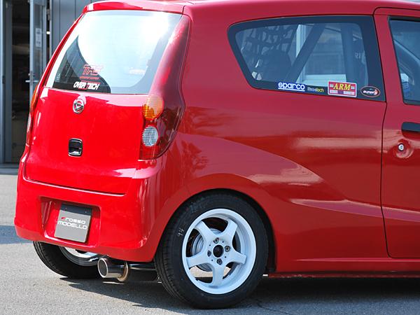 【rossomodello】GT-Xマフラー ダイハツ ミラバン L275V Mira