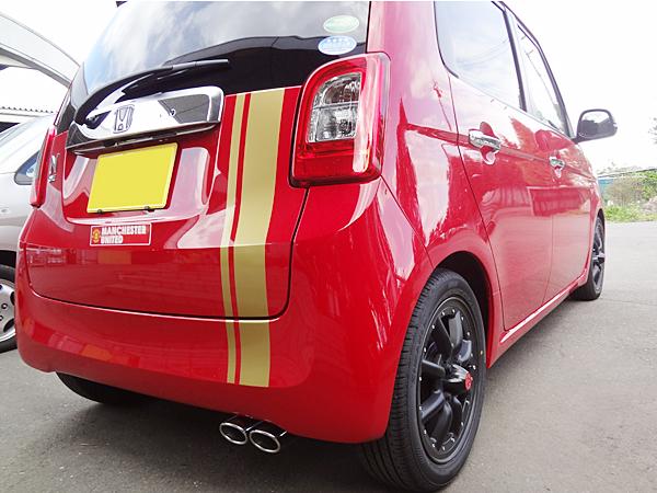 【新基準対応】ロッソモデロ コルバッソNail Twoマフラー ホンダ N-ONE DBA-JG2 ターボ 4WD エヌワン Nワン N1【車検対応】