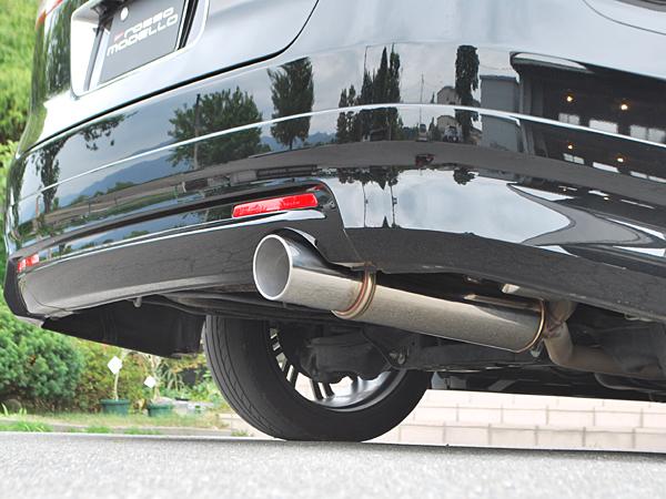 ロッソモデロ GT-X マフラーホンダ エリシオン RR1 マフラーDBA-RR1 2.4G 2WD エアログレード専用