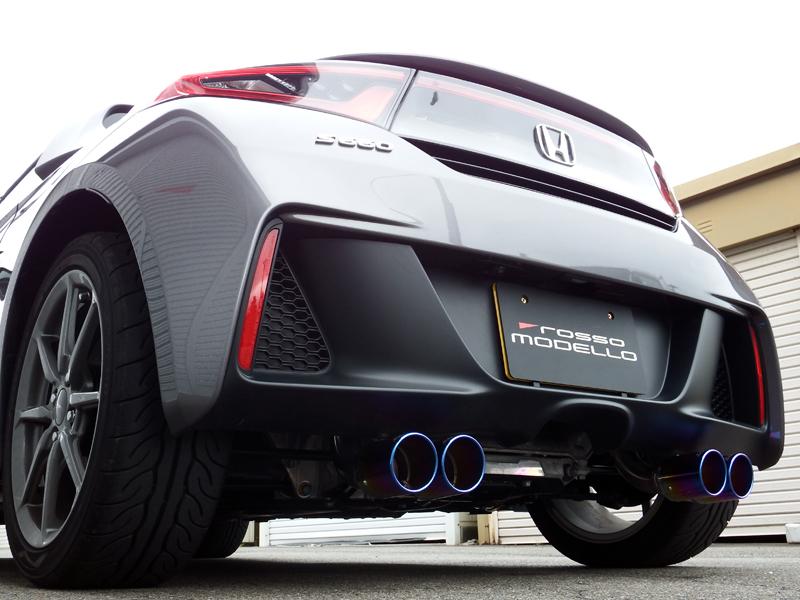 【車検対応】ロッソモデロ COLBASSO GT-FOUR マフラーホンダ S660 JW5 MT / CVT 共用 S660マフラー
