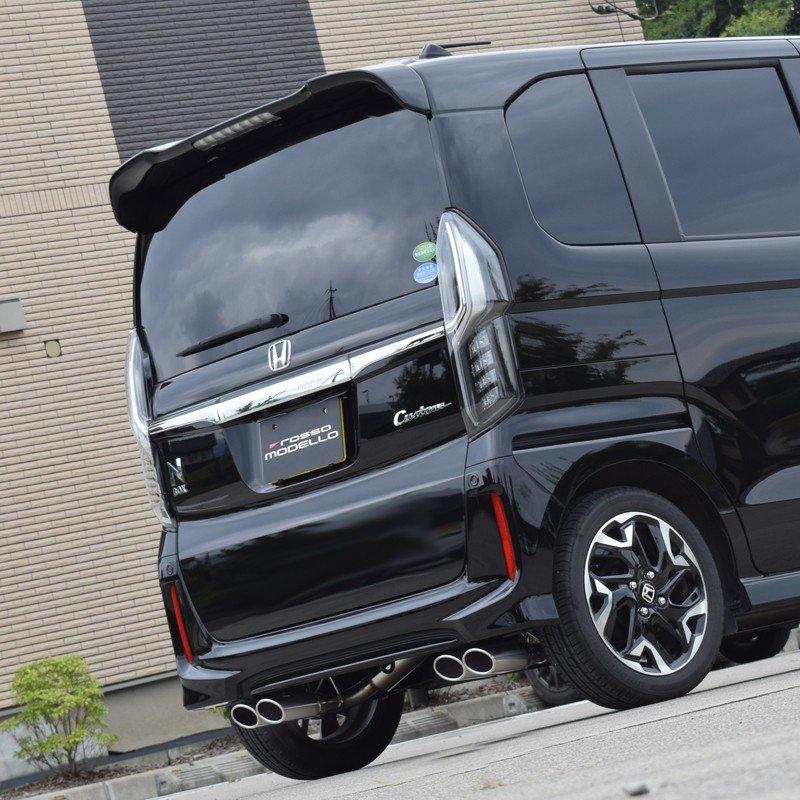 【車検対応】ロッソモデロ DUALIST EX-Four マフラーN-BOX カスタム マフラー 2WD JF3 マフラーNBOX マフラー ターボ専用 圧巻の4本出しNボックス パーツ ドレスアップ