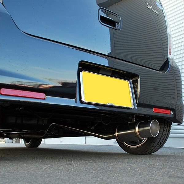 【rossomodello】GT-Xマフラー ワゴンR スティングレーX MH23S