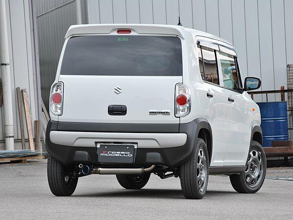 【車検対応】COLBASSO IKUSA-Ti マフラーハスラー DBA-MR31S / DAA-MR41S NAフレアクロスオーバー DBA-MS31S / DAA-MS41S NA2WD / 4WD両対応(CVT車専用) NA車専用