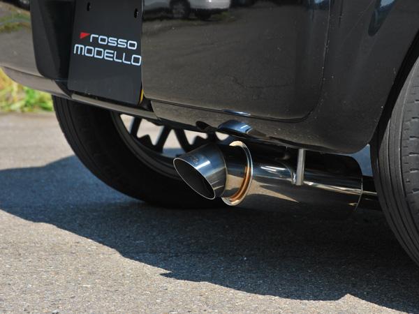 MAZDA スピアーノ マフラー ターボ HF21Sダウンテール ALONZA 車検対応平成14年9月~平成19年4月まで