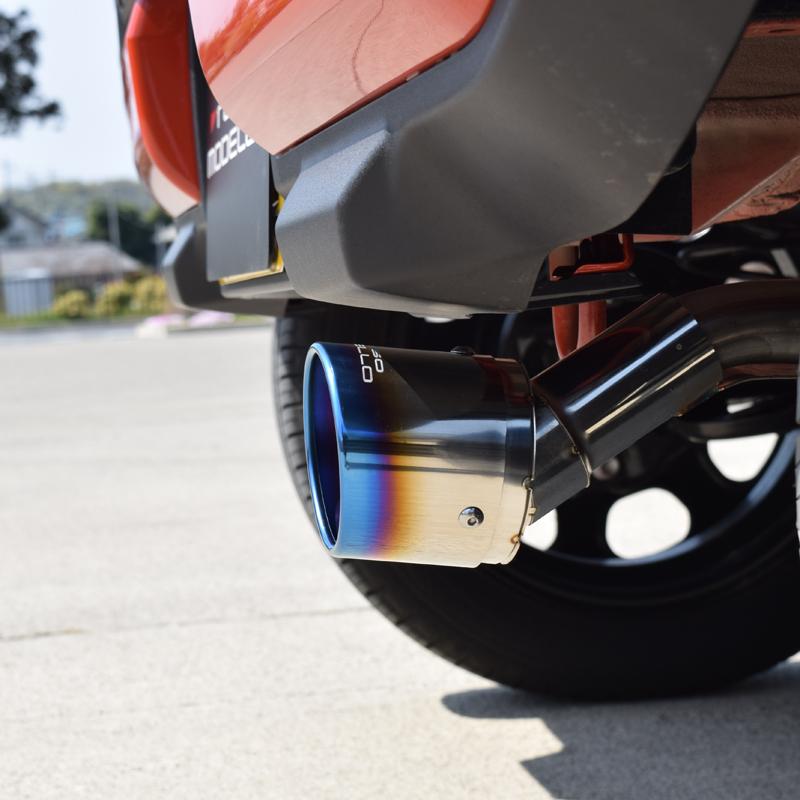 【新型用】ハスラー MR92S 2WD NA マフラーカッターチタンフェイス マフラーフィニッシャーフレア クロスオーバー ハスラー 2WD NA マフラーカッターMR92S マフラーカッター MARVELOUS T12WD NA専用 マフラーフィニッシャーフレアクロスオーバー マフラーカッター