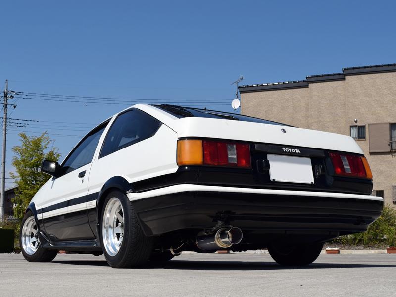 Style-Bay Final F1 マフラーカローラレビン AE86 マフラースプリンタートレノ AE86 マフラーストレート仕様 マフラー 旧車 競技用