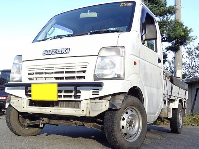 【決戦 レンジャー】キャリィトラック DA63T フロント直バー