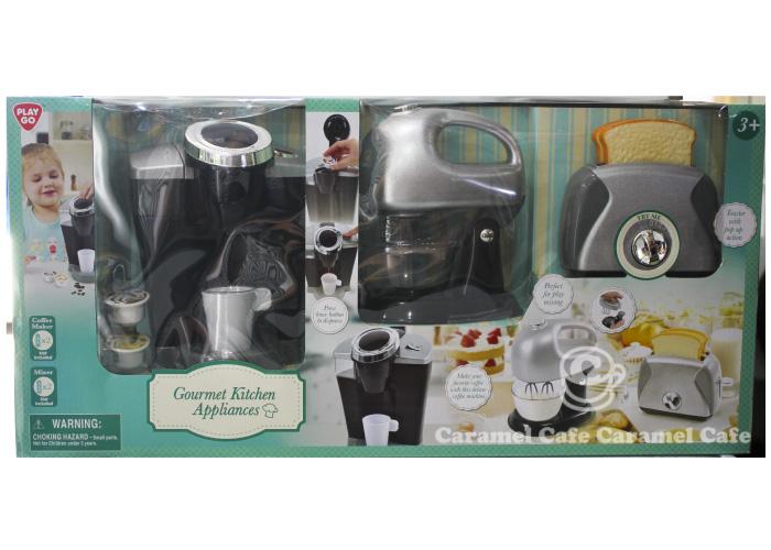playgo house kitchen appliance set coffee maker blender toaster gourmet kitchen cooking equipment 3 caramelcafe   rakuten global market  playgo house kitchen      rh   global rakuten com