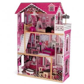 【キャッシュレス還元P9】あす楽送料無料 KidKraft Amelia Doll House キッドクラフト アメリアドールハウス 正規品 おままごと 木製 おもちゃ 【ラッキーシール対応】