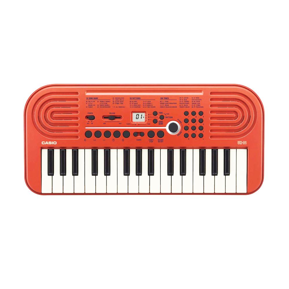 【送料無料】【CASIO カシオ】ミニデジタル キーボード 100音色 10ソングバンク 電子ピアノポータブルピアノ 電子鍵盤 ミニ鍵盤