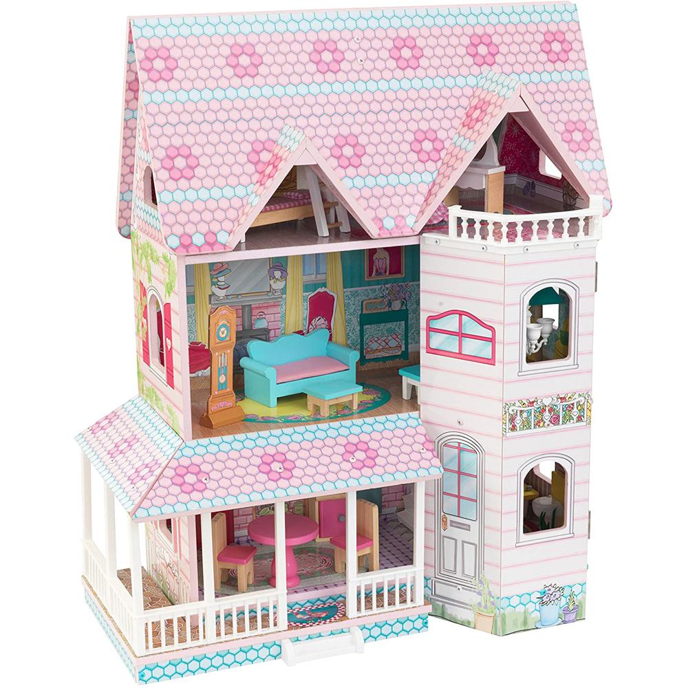 送料無料【costco コストコ】【KidKraft キッドクラフト】アビー Abbey Manor ドールハウス 3階建ておもちゃ おままごと