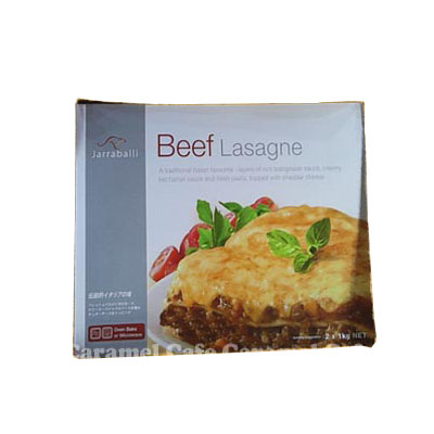 냉각 쿨 편 JARRABALLI Beef Lasagne 냉동 쇠고기 라자 냐 1Kg×202P13Nov14