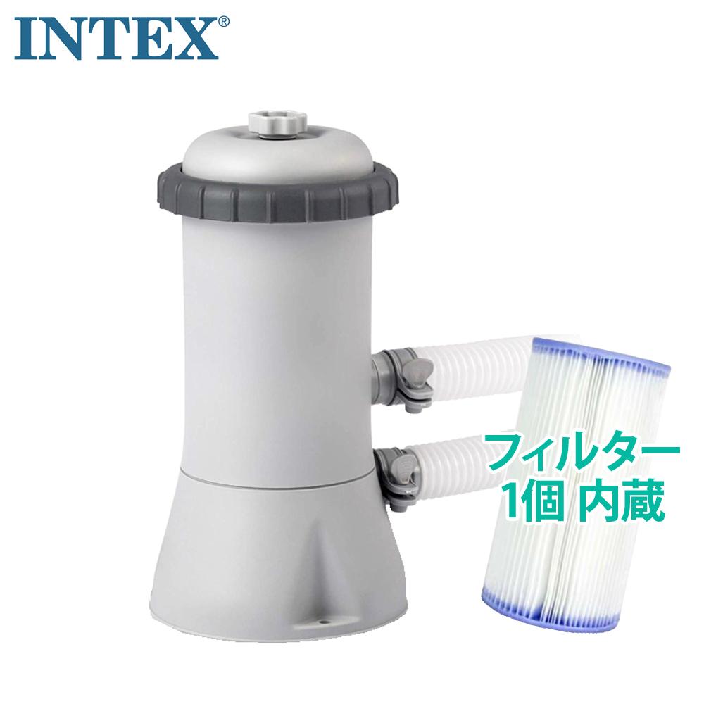 あす楽送料無料【INTEXインテックス】KRYSTAL CLEARプール用浄水フィルターポンプ#28637J05P04Jul15